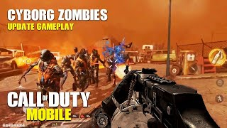 CALL OF DUTY: MOBILE - CYBORG ZOMBIES UPDATE - iOS/Android BETA GAMEPLAY