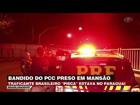 Polícia Federal prende chefão do PCC no Paraguai