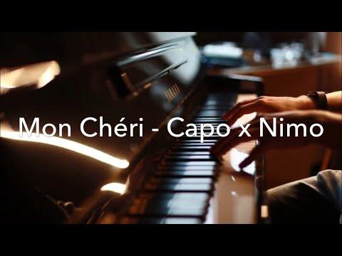 MON CHÉRI - CAPO x NIMO  ALLES AUF ROT  Piano cover (Full HD)