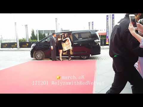 171201 MAMA2017 Red Carpet Runway - RED VELVET