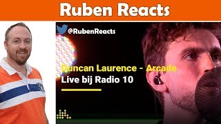 Duncan Laurence - Arcade - The Netherlands 🇳🇱 - Eurovision 2019 - Radio 10 - Reaction