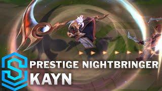 Prestige Nightbringer Kayn Skin Spotlight - Pre-Release - League of Legends