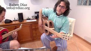 Circle of fifths minor chords progression (creative Tangos lesson 7)Modern flamenco/Ruben Diaz Spain