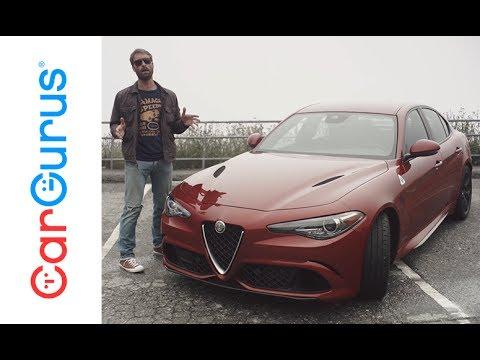 2017 alfa romeo giulia   cargurus test drive review - youtube