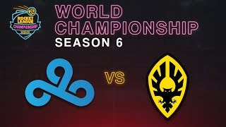 Cloud9 vs. Dignitas | RLCS S6 World Championship | Grand Finals