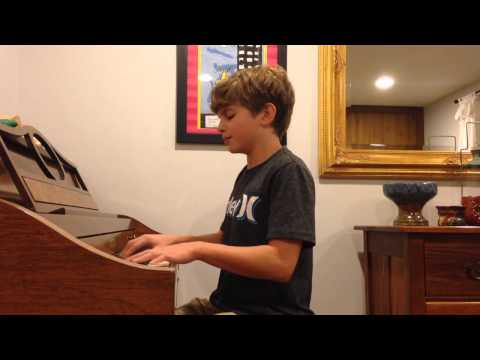 John Legend All of Me voice and piano cover