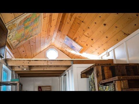 Tiny House Virtual LED Skylight - Install Virtual LED Skylight on Existing Light Fixture