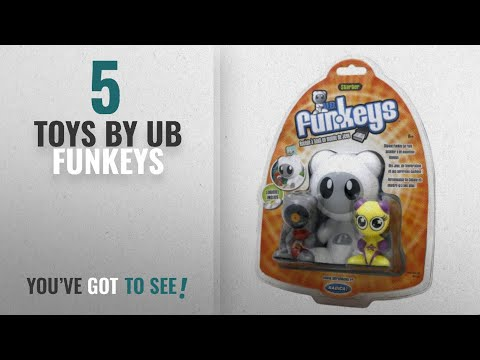Top 10 Ub Funkeys Toys [2018]: Radica UB Funkeys Starter Kit - Scratch And Twinx