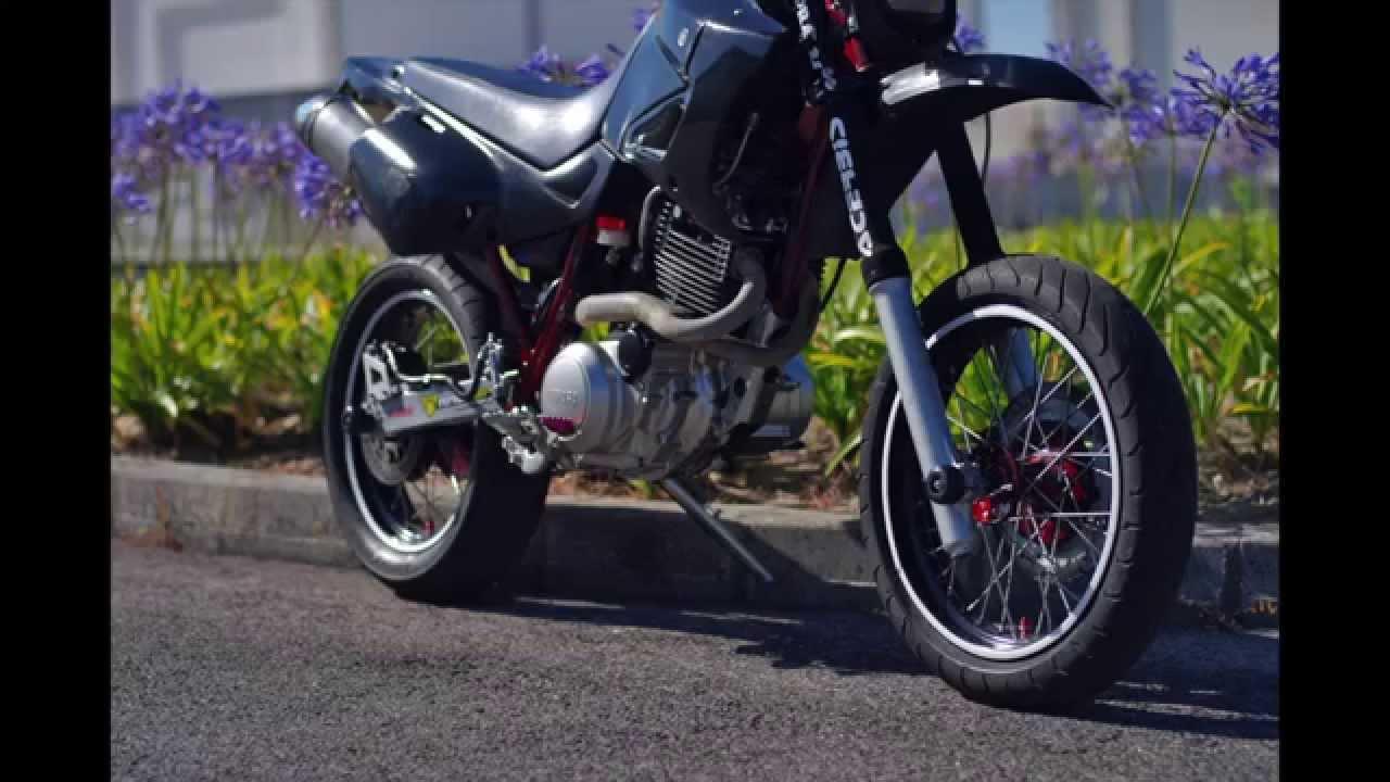 Brembo Brake Kit >> YAMAHA XT600 Supermoto | PHOTOS & EXHAUST SOUND CHECK ...