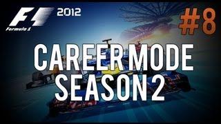 F1 2012 Career Mode - European Grand Prix [Legend AI] S2 E8