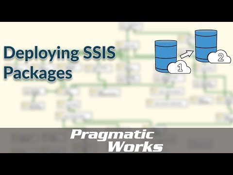 Deploying SSIS Packages