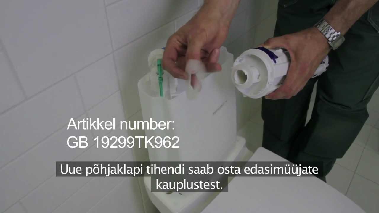 GB 33 Nautic wc-poti lekke likvideerimine (Estonian) - YouTube