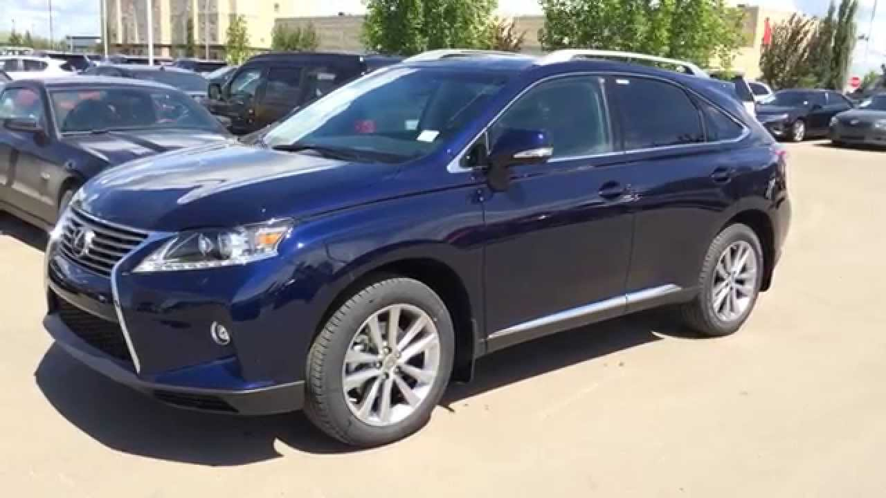 2015 lexus rx 350 awd touring package review blue on. Black Bedroom Furniture Sets. Home Design Ideas