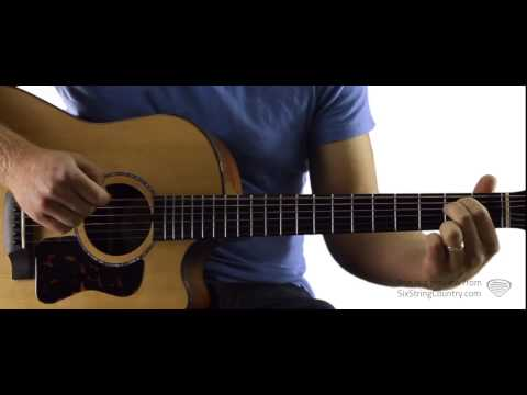 Guys Like Me - Eric Church - Guitar Lesson and Tutorial