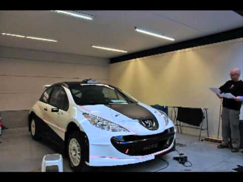 Wrapping Accent Racing Team Peugeot 207 S2000 Mov Youtube