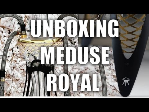 UNBOXING THE MOST BEAUTIFUL HOOKAHS - MEDUSE ROYAL - #smokin'