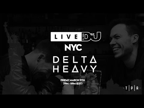 DJ Mag Live NYC with Delta Heavy