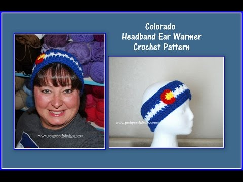 Colorful Colorado Headband Crochet Pattern