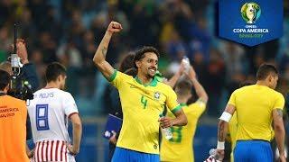 Tanda de penales | Brasil 0 (4) - (3) 0 Paraguay | Copa América | Televisa Deportes