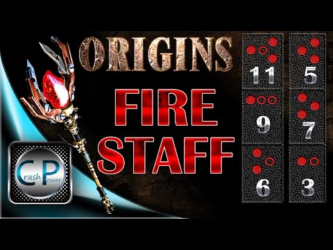 Fire Staff Upgrade - ORIGINS Zombies - HOW TO UPGRADE THE FIRE STAFF - Black Ops 2 Zombies