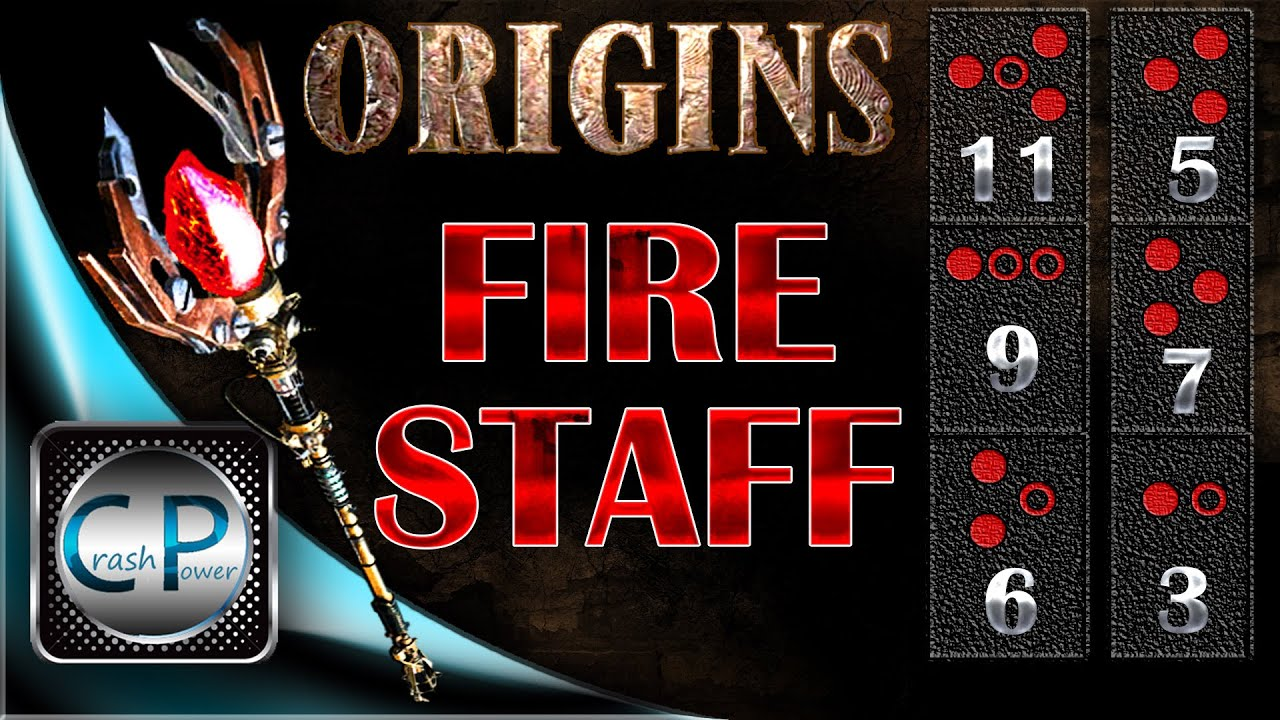 Fire staff upgrade origins zombies how to the black ops youtube also rh