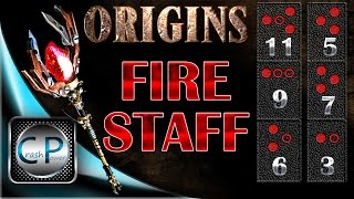 Fire Staff Upgrade - ORIGINS Zombies - HOW TO UPGRADE THE FIRE STAFF - Black Ops 2 Zombies