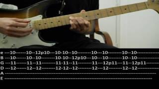 RHCP - Pretty Little Ditty (lesson w/ tabs)