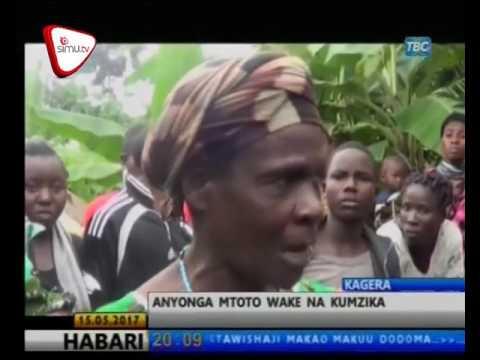 Amnyonga Mwanae na Kumzika