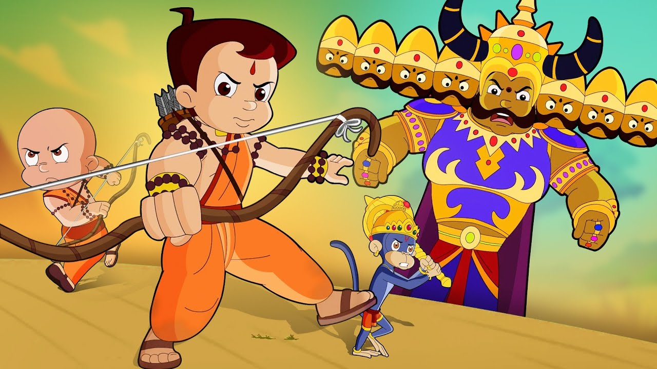 Chhota Bheem - Dholakpur Mein Dussehra Maha Utsav | Dussehra Special | Fun Kids Cartoon Video