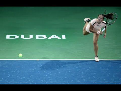 2018 Dubai First Round | Daria Kasatkina vs. Agnieszka Radwanska | WTA Highlights
