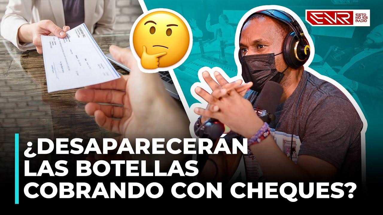 ¿DESAPARECERÁN LAS BOTELLAS COBRANDO CON CHEQUES?