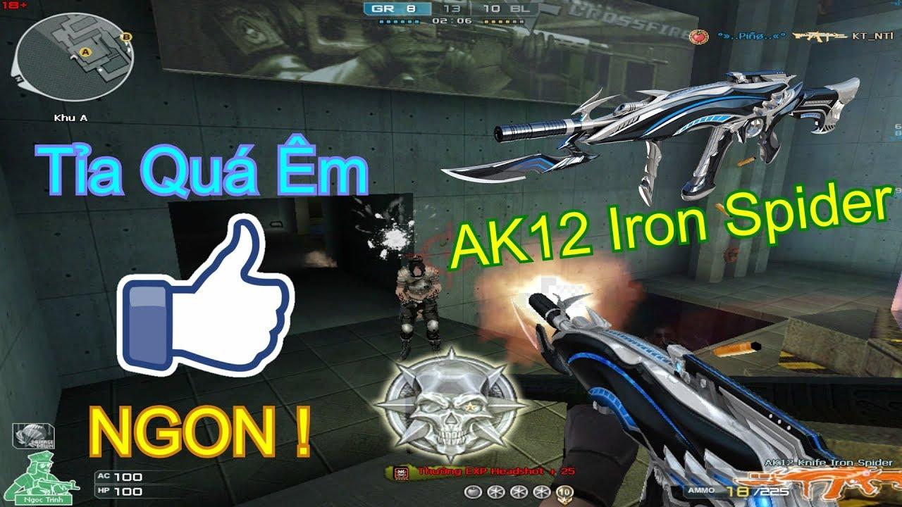 [ Bình Luận Ghost ] AK-12 Iron Spider ( VIP ) ✓「Pino.NTK」 - clipzui.com