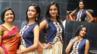 Surabhi Santhosh Exclusive Behind the Scenes video of  Photoshoot for Movie Man