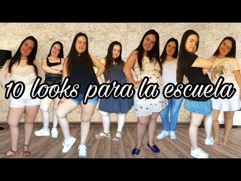 CÓMO ME VISTO PARA IR A CLASE | 10 LOOKS DIFERENTES | Patri fashion