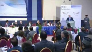 Peace Symposium 2011