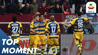 Inglese Strike Against Torino | Torino 1-2 Parma | Top Moment | Serie A