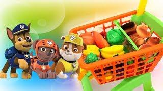Сборник Щенячий патруль все серии подряд Продукты Мультфильмы для детей Видео про игрушки Paw patrol