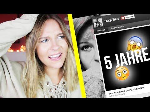 WHAT? Das war mein Kanal vor 5 JAHREN ! 😱 | Dagi Bee