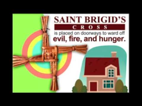 Read the Story of Saint Brigid's Cross and Understand its Meaning