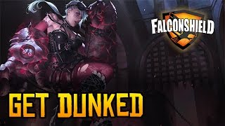 Repeat youtube video Falconshield - Get Dunked feat. Nicki Taylor (Original LoL Music - Vi)