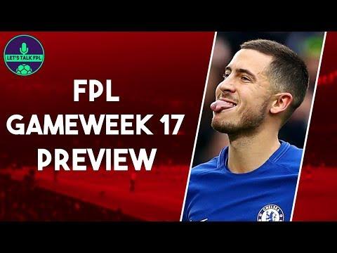 MY FPL TEAM GAMEWEEK 17 | SELLING SALAH FOR HAZARD? | Fantasy Premier League 2018/19