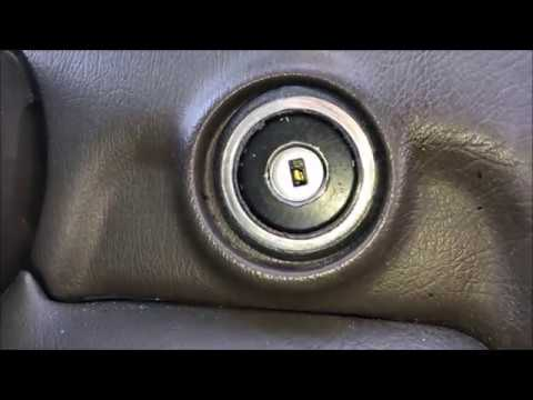How to Repair / Fix Stuck Ignition Key – Mercedes (worn tumbler replacement)