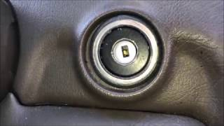 how to repair fix stuck ignition key mercedes worn tumbler replacement
