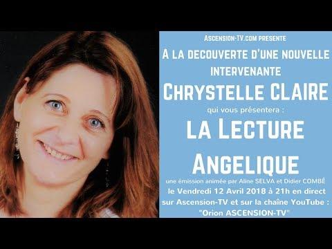 """[BANDE-ANNONCE] Emission-Découverte de Chrystelle CLAIRE et de la : """"Lecture Angélique"""""""