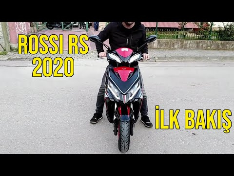 Motolux Rossi RS 50 cc  Moto Kırbaş (performans paket) Top Speed!