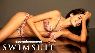 Kenza Fourati Goes Completely Bare For Her Body Painting Photoshoot | Sports Illustrated Swimsuit