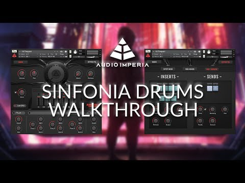 """Audio Imperia """"Sinfonia Drums"""" (Brooding & Intense Cinematic Drums) - Walkthrough"""