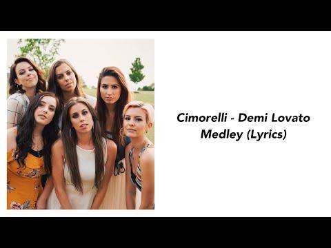 Cimorelli - Demi Lovato Medley (Lyrics)