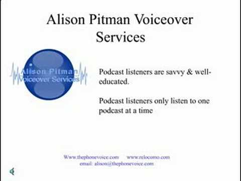 Podcasting Benefits - British Voiceover Services