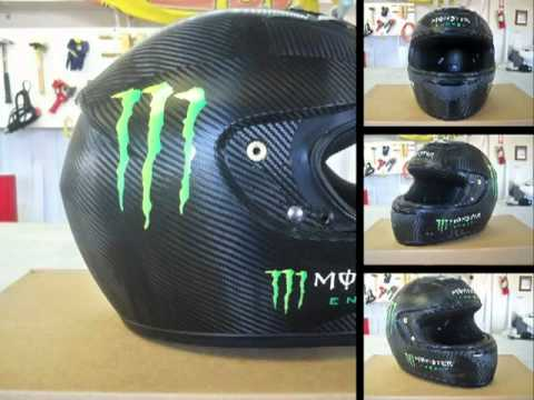 Carbon Fiber Helmet Wraps   YouTube - Vinyl wrap for motorcycle helmets